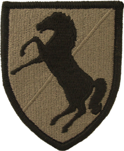 11th Armored Cavalry Regiment OCP Unit Patch