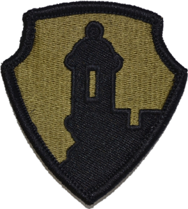 1st Mission Support Command OCP Unit Patch