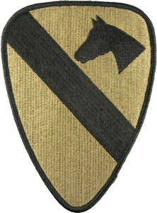 1st Cavalry Division OCP Unit Patch