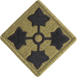 4th Infantry Division OCP Unit Patch