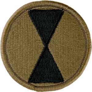 7th Infantry Division OCP Unit Patch