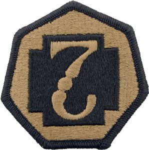 7th Medical Command OCP Unit Patch