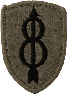 8th Infantry Division OCP Unit Patch
