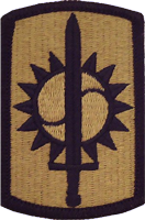 8th Military Police Brigade OCP Unit Patch