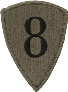 8th Personnel Command OCP Unit Patch