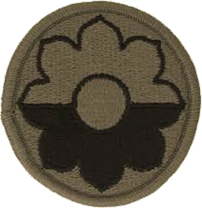 9th Infantry Division OCP Unit Patch