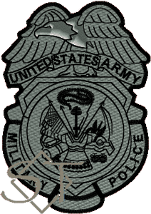 US Army Military Police Badge Patch