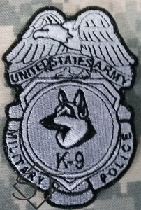 US Army Military Police K9 Badge Patch