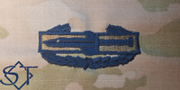 Combat Action Badge 1st Award-OCP USSF Blue