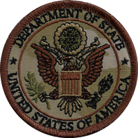 Department of State MultiCam patch 3""