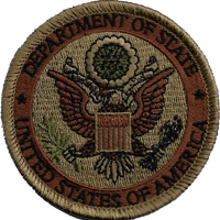Department of State OCP patch 3""