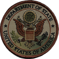 Department of State MultiCam patch 4""