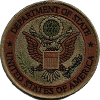 Department of State OCP patch 4""