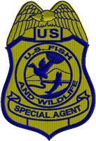 US Fish and Wildlife Special Agent Badge Patch