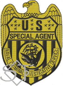 US Navy NCIS Special Agent Badge Patch