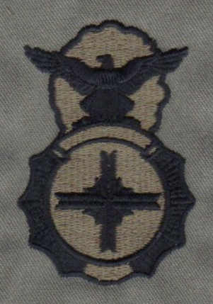 Puerto Rico State Guard Security Forces Uniform Badge-ABU
