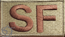 Duty Identifier Tab SF Security Forces OCP-Spice Brown