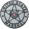 US Marshal Badge Patch
