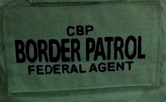 Tactical Vest Panel-Border Patrol-CBP
