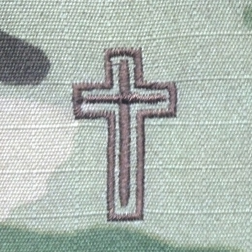 Chaplain Insignia-Air Force-MultiCam/OCP